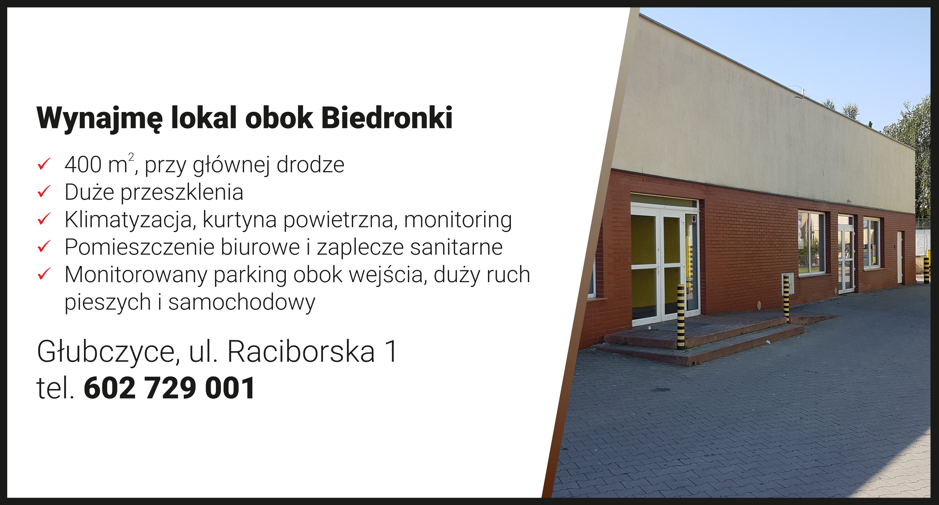lokal Głubczyce
